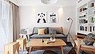 实案丨75�O混搭两居室,他家的装饰很经典!