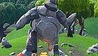 在玩家争夺吃鸡时,地图上的两座石像却悄悄谈起了恋爱