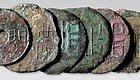 【古钱】从纺纱轮盘中递变出来的圜钱