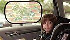 遮阳挡也有黑科技!1秒安装、防晒隔热、不挡视线,宝宝乘车必备!