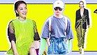 """生活过得去就要来点""""绿""""  王菲李宇春带头演绎最In荧光色!"""