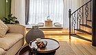 """巧改55㎡的Loft公寓,吧台、榻榻米一个不少,还有""""家庭影院"""",温馨又惬意!"""