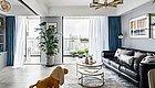 126㎡三室一厅,他家巧用「书柜+投影仪」,打造完美亲子宅,通透又舒适!