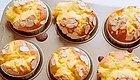 树莓奶油杯子蛋糕~~颜值、美味兼顾!