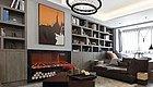 99㎡现代高级感两居室,客厅衣帽间,阳台榻榻米,不常规却很实用!