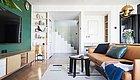 层高4.4m的40㎡Loft小公寓,巧用层高差,解救空间压抑感!