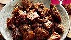 内蒙古锡林郭勒草原上的羊肉干,不腥不膻,吃着过瘾!