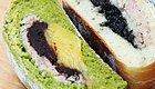 绿白对决 芋泥豆沙奶黄PK芋泥麻薯芝麻 哪个能胜你的胃?