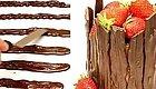 烘焙圈子:巧克力在烘焙中的应用小技巧~~30种巧克力配饰制作,很实用!!!