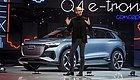奥迪Q4 e-tron概念车日内瓦秀技:车漆颜色随灯光变化,续航450公里