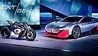 宝马将在2023年前推出25款新能源车,两款首发概念车展示全新电动科技