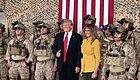 """特朗普赴伊拉克""""劳军""""后,发了一段视频,却…… 泄密了……"""