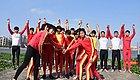 看!广东省第十五届运动会的斗门阵容!