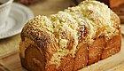 用辫子面包法,做出来的水果吐司面包,好吃!