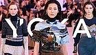 辛芷蕾穿上Chloé的衣服想去旅行 刘雯演绎的印花Tee太种草!