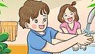别人家的孩子是怎么爱上洗手的?家长们快来向马坡第三幼儿园取取经!