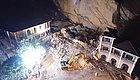 关注!湖北南漳山体崩塌酒店被埋 10人仍无下落