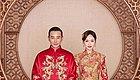 晋嫣结婚照报出,这才是新中式的优雅示范啊!