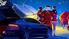 圣诞节海报,我只服这几个车企!