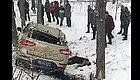 南阳大雪过后,车祸不断,太惨了...