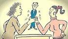 婆婆称媳妇穿新衣像女鬼:拎不清的丈夫,才是婆媳矛盾的导火索