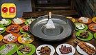 郑州首家贵州烤肉店 草帽锅上烤肉片 味蕾绝配辣椒面(内含福利)