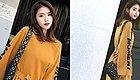2019年很流行的宽松连衣裙,遮肉又显瘦,春天这样搭配美炸~