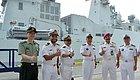 平戎  法国军舰前来南海溜达,结果中马泰联合军演一出,高乐号立刻退到印度洋~