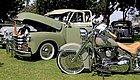 你骑的摩托车在汽车中相当于什么车?