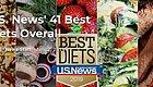 2019年最健康的饮食排行榜出炉!这种饮食夺冠,美国权威杂志发布~速看