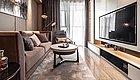 62平简约风二居室,电视背景墙对小户型来说非常实用!