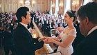 钢琴王子朗朗和他的爱丽丝结婚啦~真是浪漫又文艺!