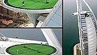 任性到爆!全球最奢华七星级酒店的空中网球场