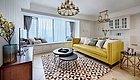 96平现代美式三居室,背景墙和全屋定制收纳柜简洁实用又漂亮