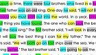 一天学习10个单词,坚持了22天,孩子已能自主阅读英语绘本!