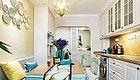 看了那么多欧式风格,这个140�O三室两厅餐厅是最实用的!
