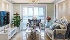 晒127㎡简欧新房,浅色装修效果惊艳,最喜欢轻奢小客厅!