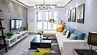 110平的简约风三居室,用黑白灰打造的格调之家