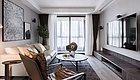 杭州的130平现代简约风三居室,这样的配色简洁又明快