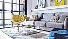 92平的北欧风二居室案例,灰与白构造的简洁之家