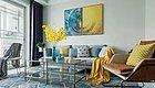 78㎡二居室硬装简洁、软装舒适,多元素的混搭非常好看!