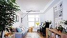 装修效果图:101�O北欧风三居,原木打造舒适安宁的家!北欧风格