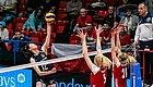 【女排】3比1逆转战胜波兰队,中国女排瑞士赛两连胜