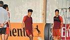 【亚洲杯】对阵老对手要争小组第一,国足全员备战中韩之战