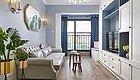 76平的北欧风小户型二居室,配色和收纳设计都喜欢