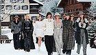 潮时尚  最后一场秀,老佛爷在巴黎大皇宫下了一场雪