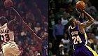 太神奇!看完了这8张NBA对比图发现,真的可以有一模一样的动作