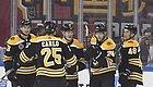棕熊两连胜结束NHL中国赛 球队大将比赛间隙因腹泻冲出球场