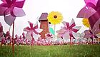 美爆了!南海湿地举办包头首届风车文化节,风车节门票免费送…