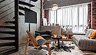 59㎡工业风Loft公寓,红砖、飘窗、螺旋式楼梯,带你找到属于自己的乌托邦!